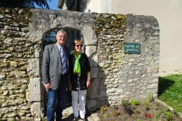 Buergermeister Lothar Kalter mit Frau