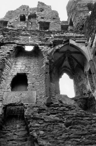 Östliche Innenwand um 1960